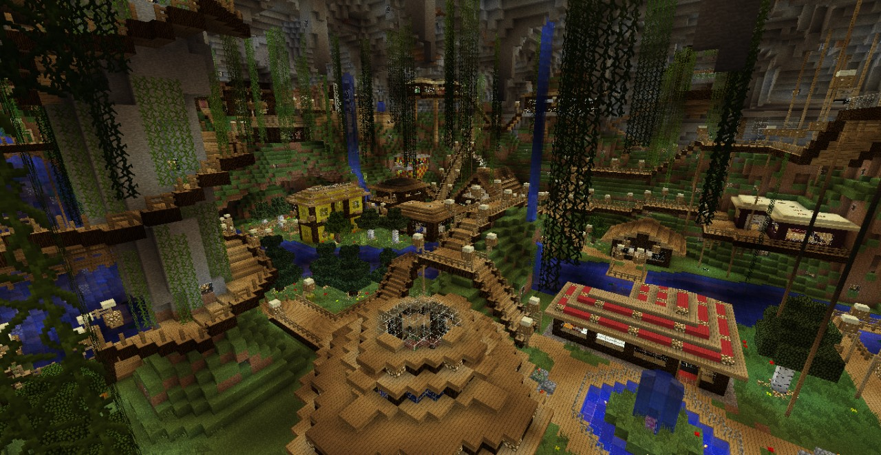 Underground City Minecraft Project