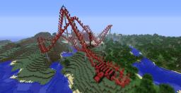Rollercoaster Minecraft Map & Project