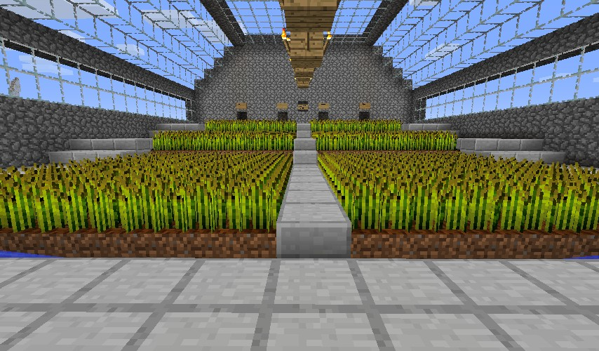 minecraft how to start a farm