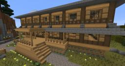 Lodge Minecraft Map & Project