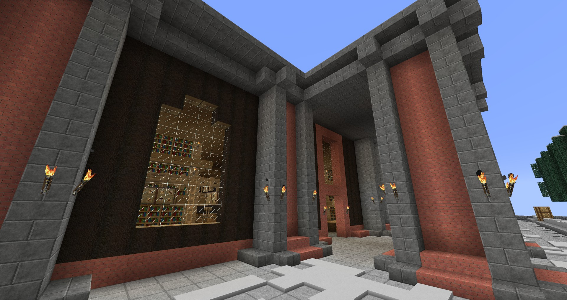 Archive / Library Minecraft Map & Project