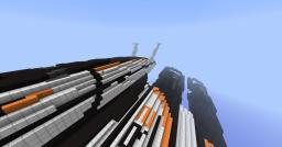 Normandy SR2 with a Crew!!!  [You can use ZepelinsMod  to reach it ] Minecraft