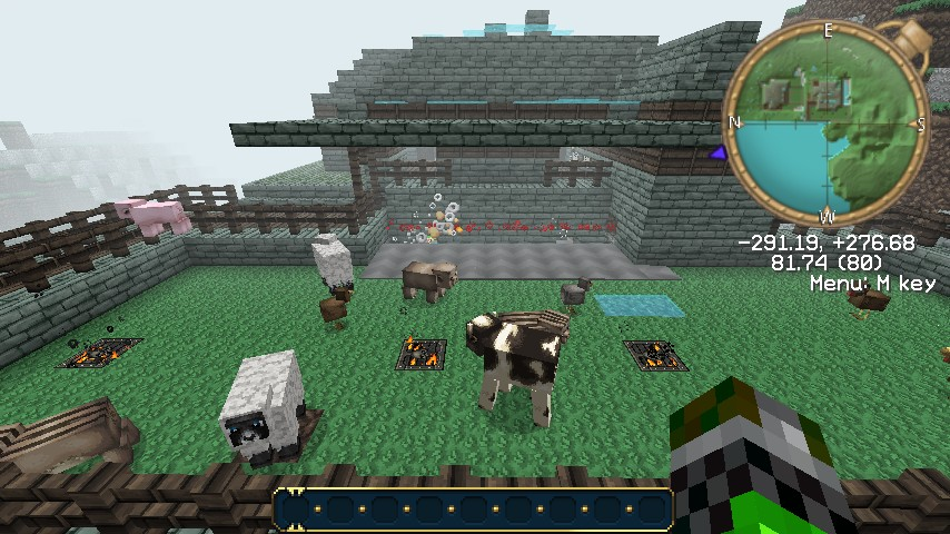 My powercraft farm house