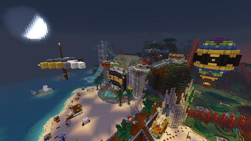 minecraft casino island map download