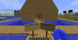 Underwater house(with farm, fishing pond, village and green house) Minecraft Map & Project