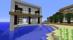 Island Resort Entry. Minecraft