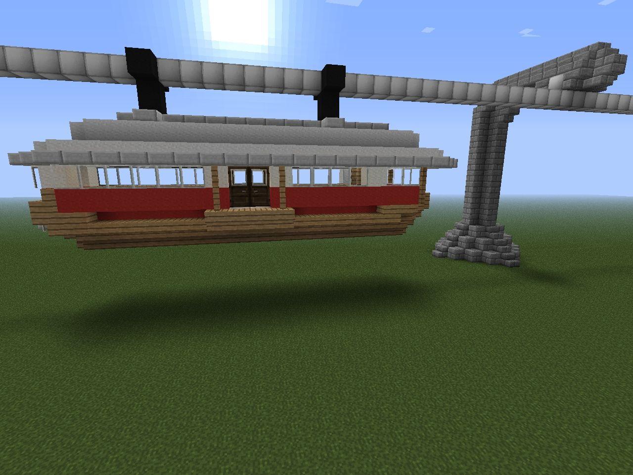 Monorail Design #1 Minecraft Project