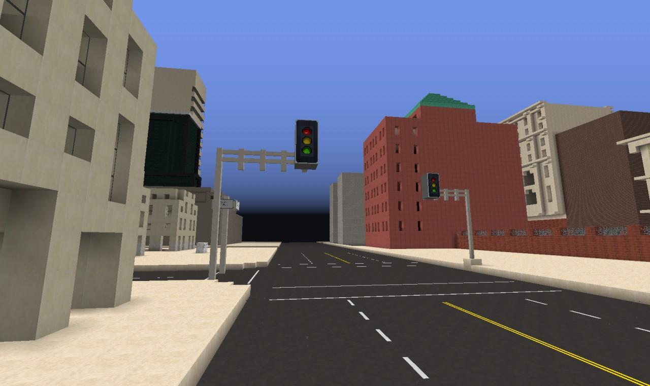 20th Century City Minecraft Project