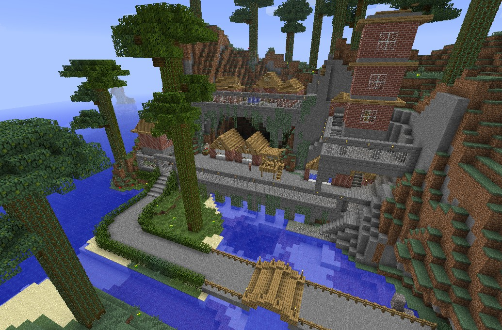 Harbor Village Minecraft Project