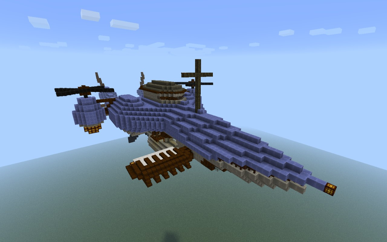 the gallery for gt minecraft airship final fantasy