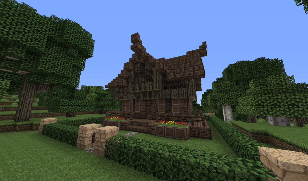 House Ideas: Medieval Witch House Minecraft Project