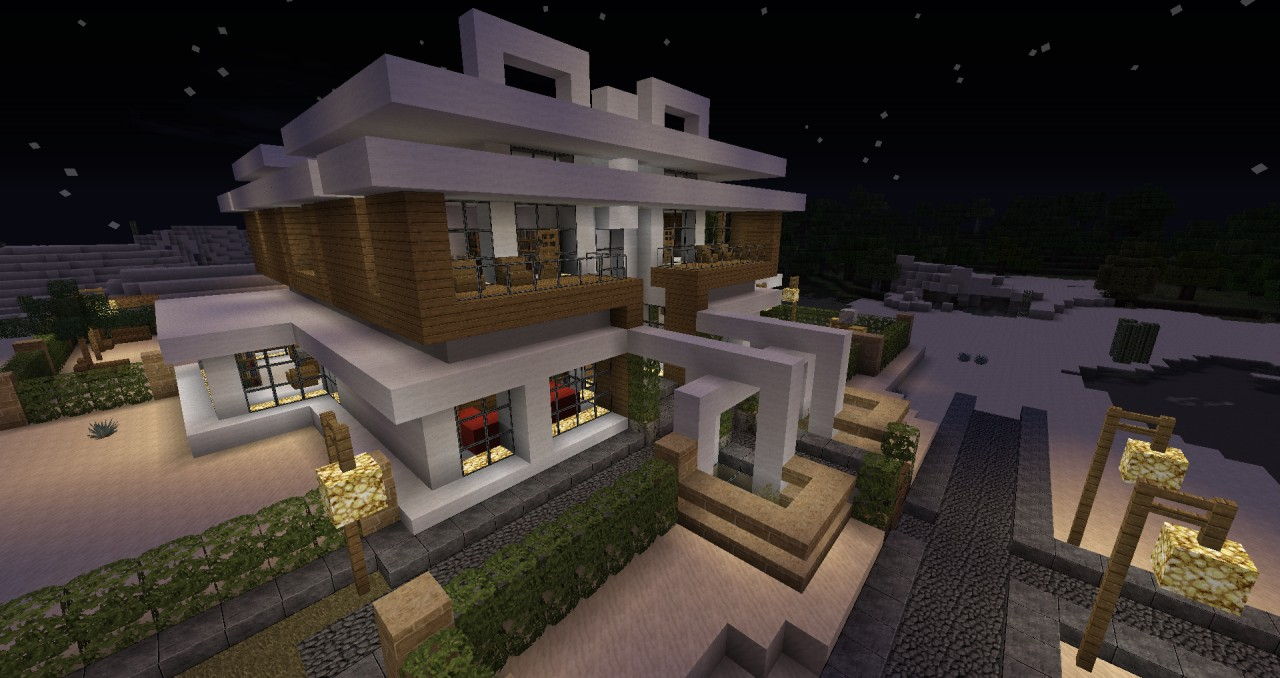 Minecraft modern house ii by zelq minecraft project