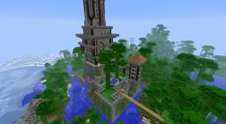 Tower castle Minecraft Map & Project