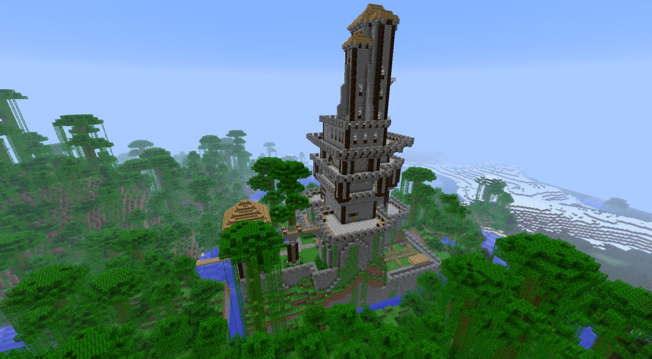 Tower castle Minecraft Project