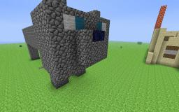 Ocelot statue! Minecraft Map & Project