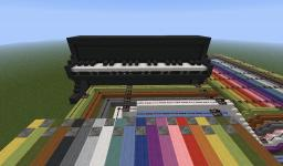 ~ Playable Piano ~  [Now with sound] Minecraft Map & Project