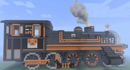 Locomotive - Steam Powered Train - Lis 12 Minecraft