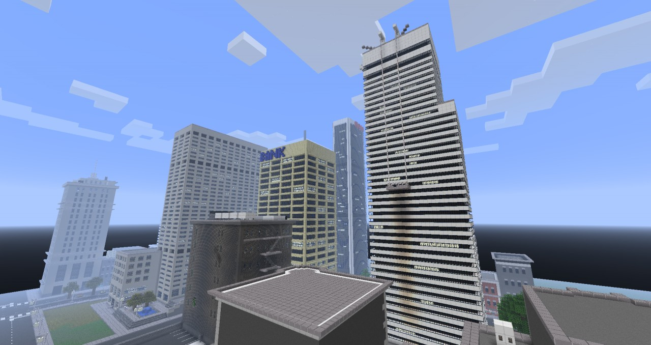 Minecraft city ideas