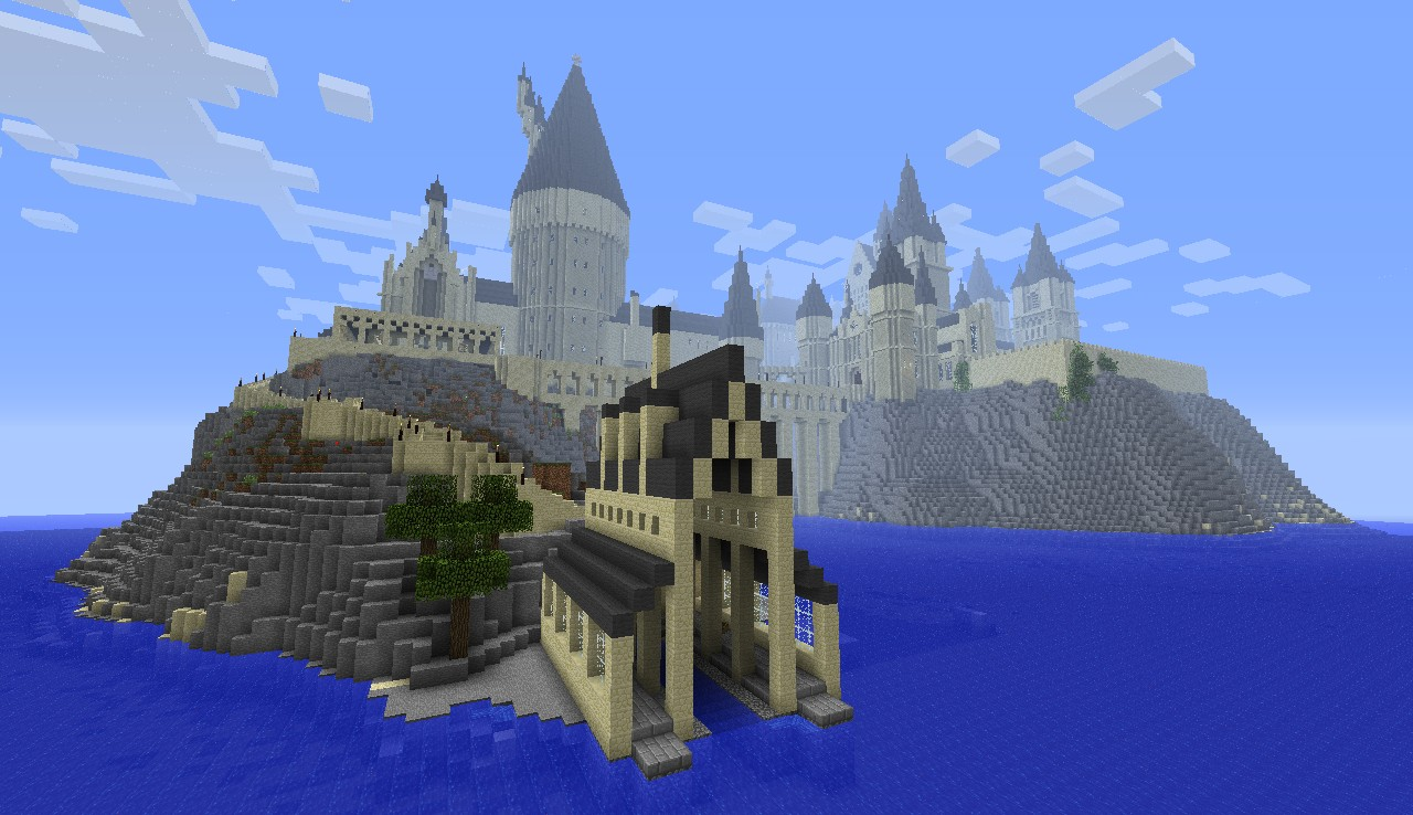 Hogwarts Castle Minecraft Seed - #traffic-club