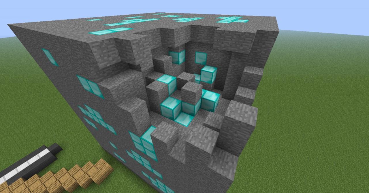 Minecraft Diamond Ore Comparison Minecraft Project