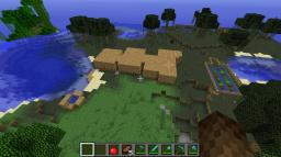 Cool Survival house and farm.1.2.3 Minecraft Project