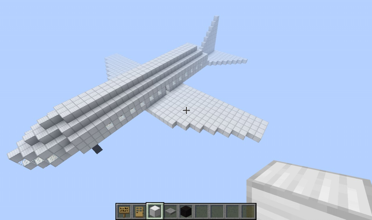 how to make a airplane come backwards