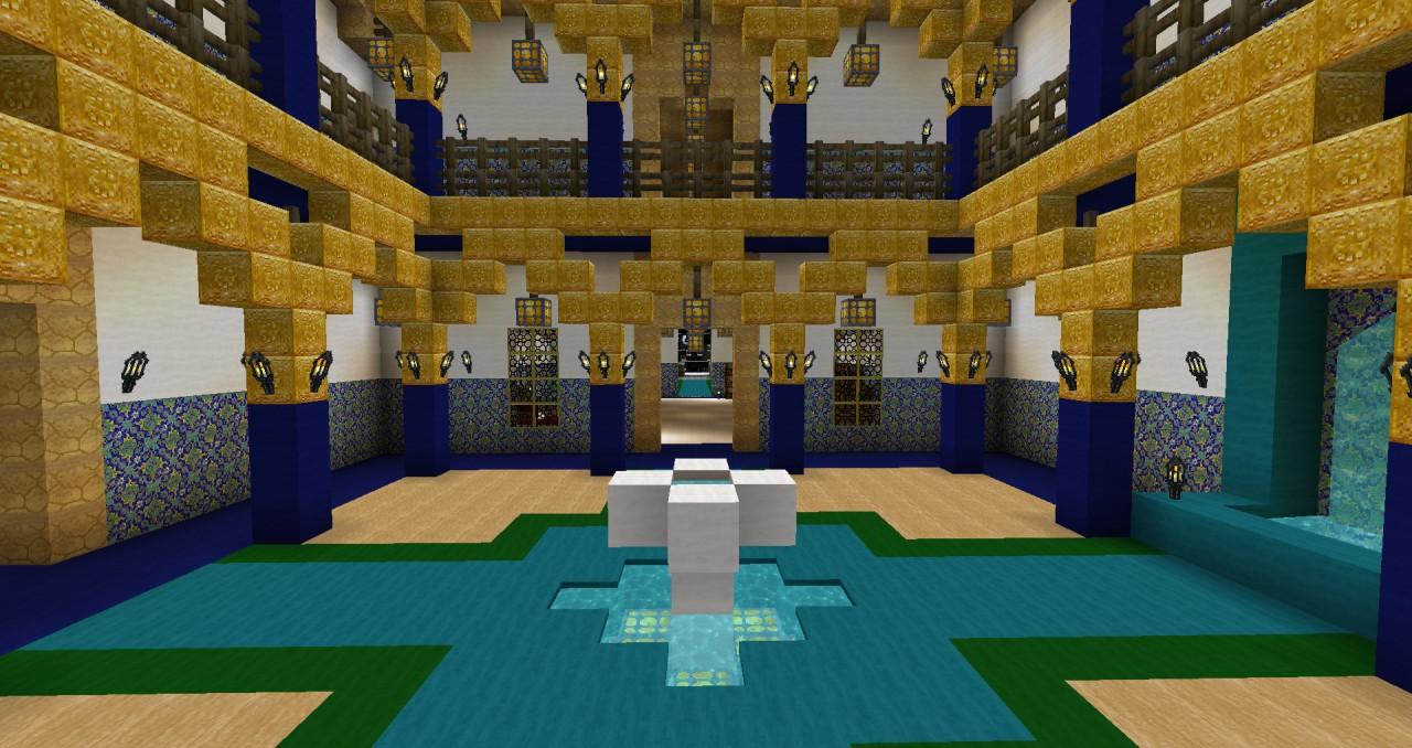 Moroccan Riad Minecraft Project