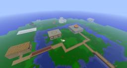 Flatland of Friends Minecraft Map & Project