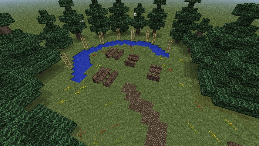 Chinese Zen Garden Minecraft Project