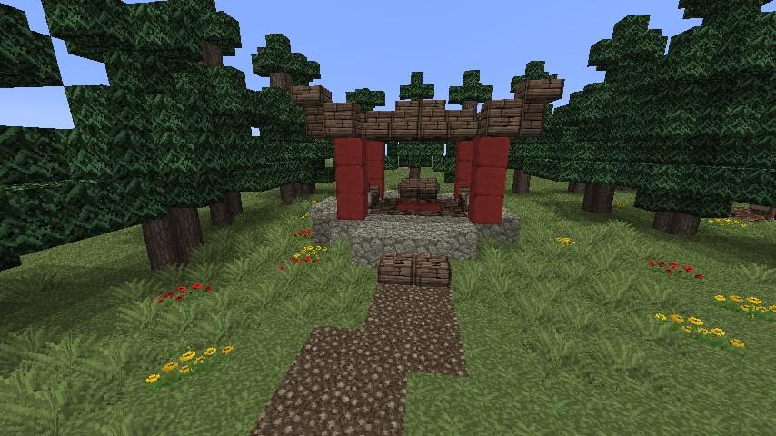 minecraft japanese zen garden