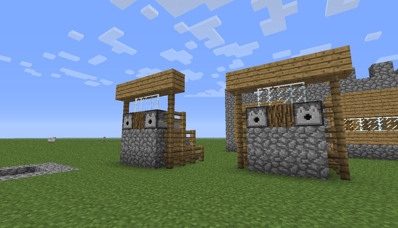 u build the village minecraft project