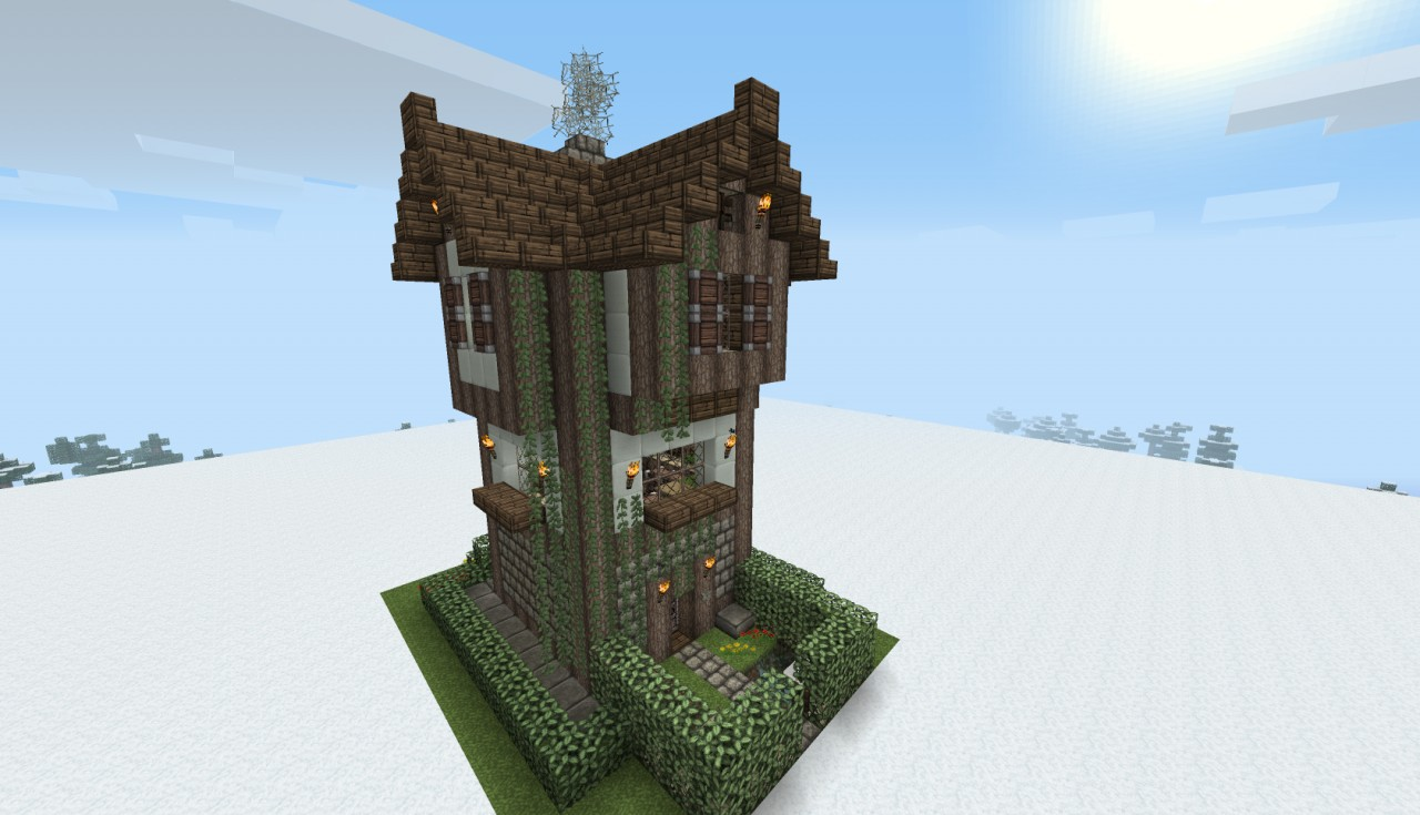 Medieval houses bundle with schematics minecraft project for Medieval house design