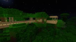 Tree House [Newest Creation] Minecraft Project