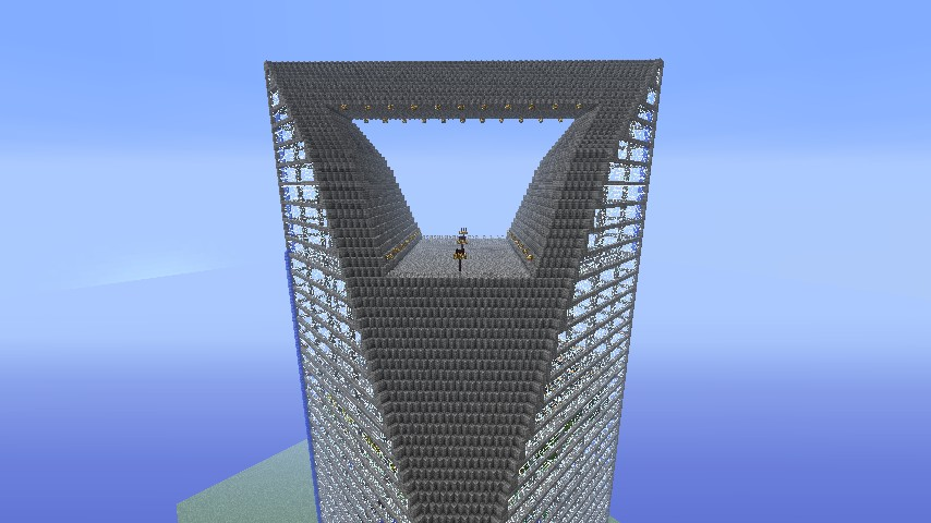 Shanghai World Financial Center 1 2 3 Minecraft Project