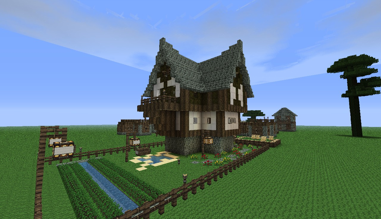 U build the village minecraft project for Cool ideas for building a house
