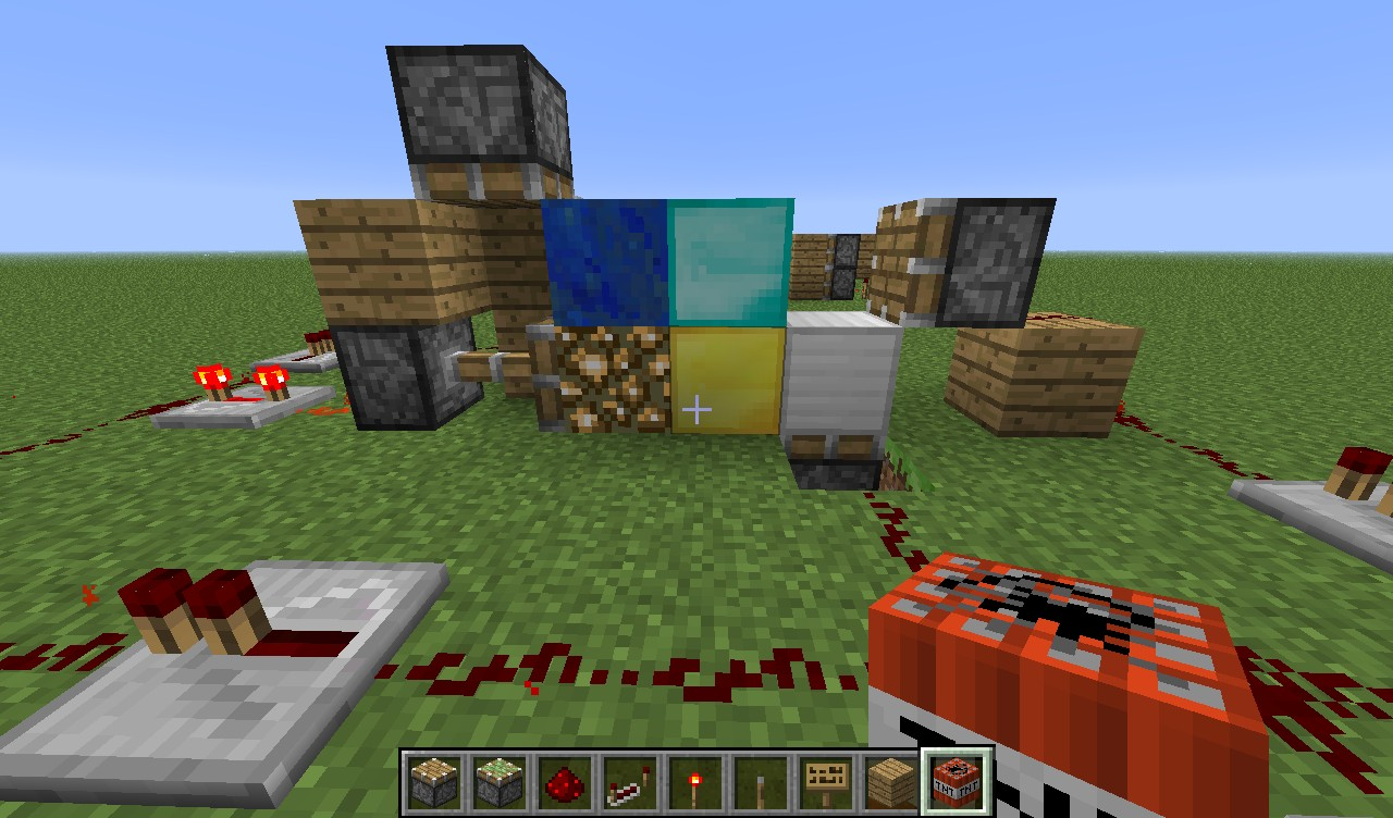 how to make redstone minecraft