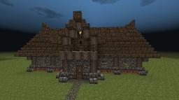 Log Cabin Minecraft