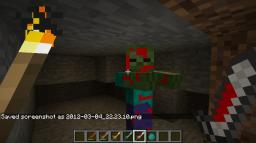 blood on swords and zombies Minecraft Texture Pack