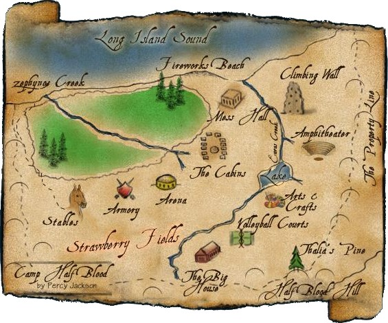 If you get lost you can refer to this map!