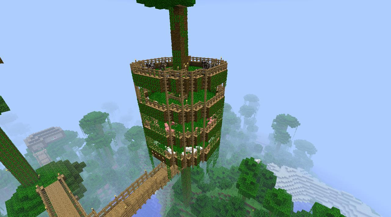 Themurrey U0026 39 S Treehouse Minecraft Project