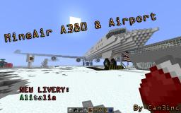 Airbus A380 & Airport   New Livery Every week! Minecraft Project