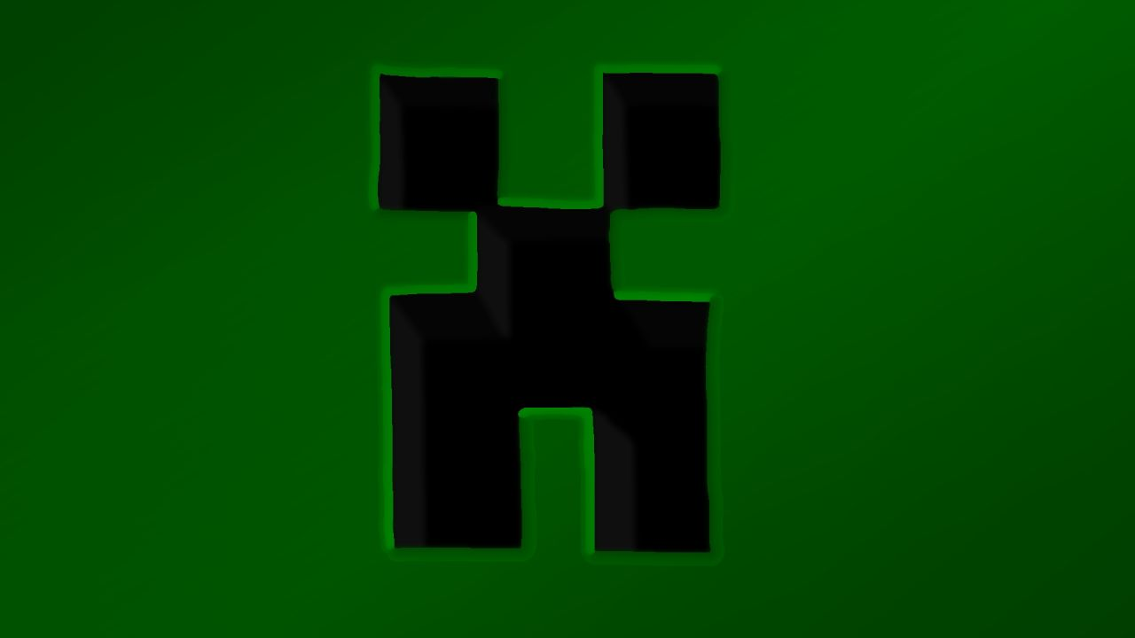 Creeper Desktop Wallpaper (Better in Download!)