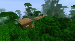 JungleHouse Minecraft Map & Project