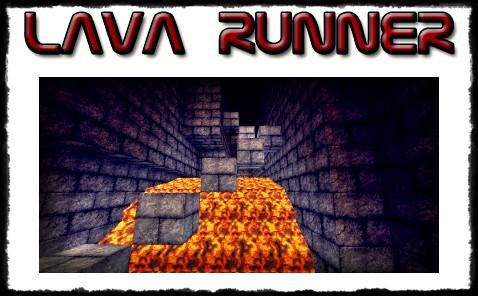 Lava Runner 1.0 Minecraft Map & Project