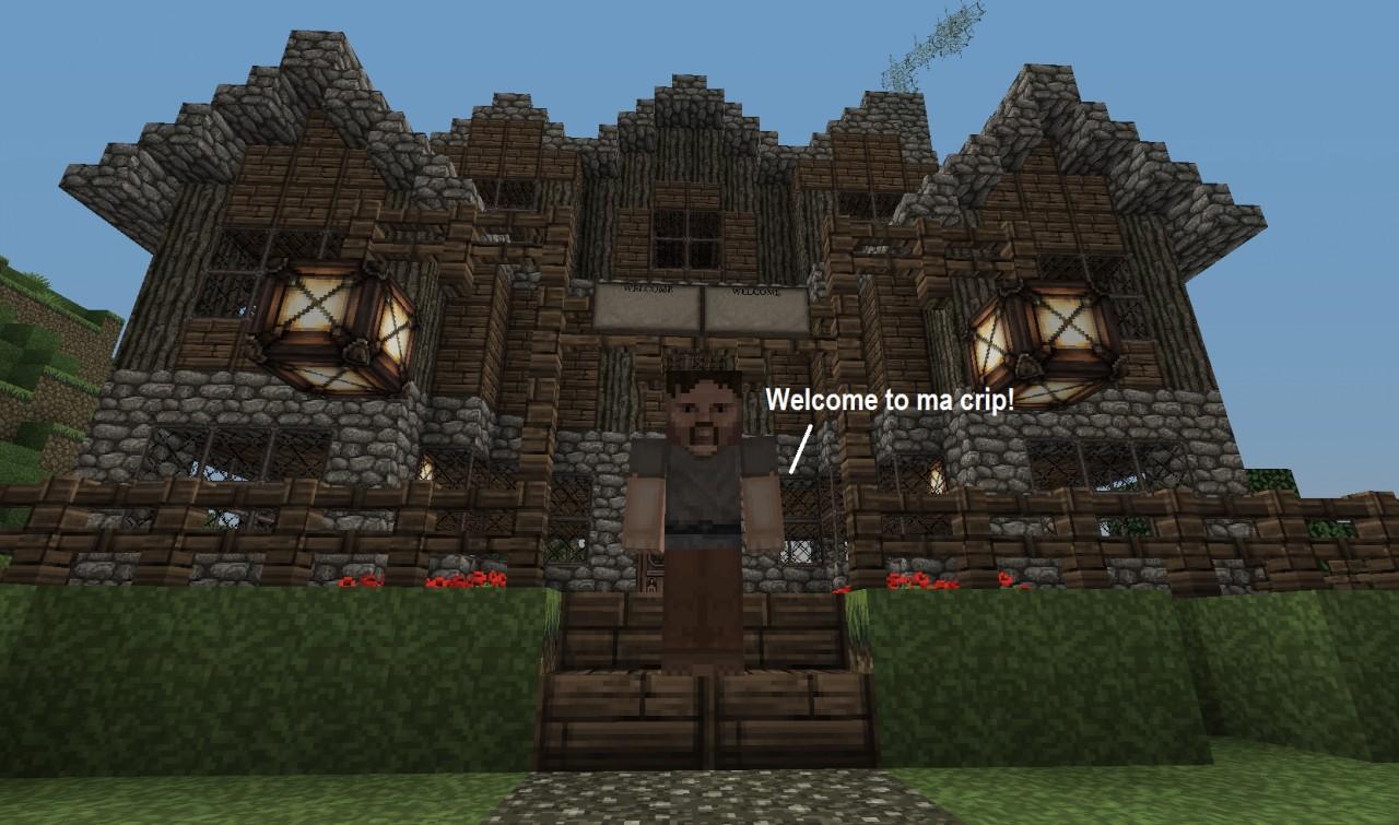 Old Mansion Minecraft Map