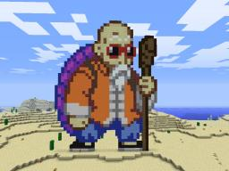 Master Roshi (Dragonball Goodness) Minecraft Map & Project