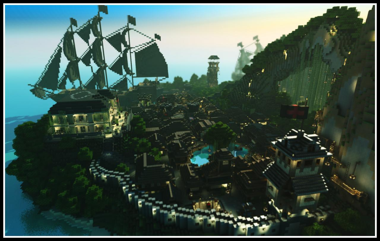 Pirate Island Adventure Map