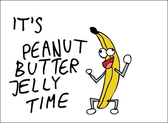 Peanut butter and jelly dance