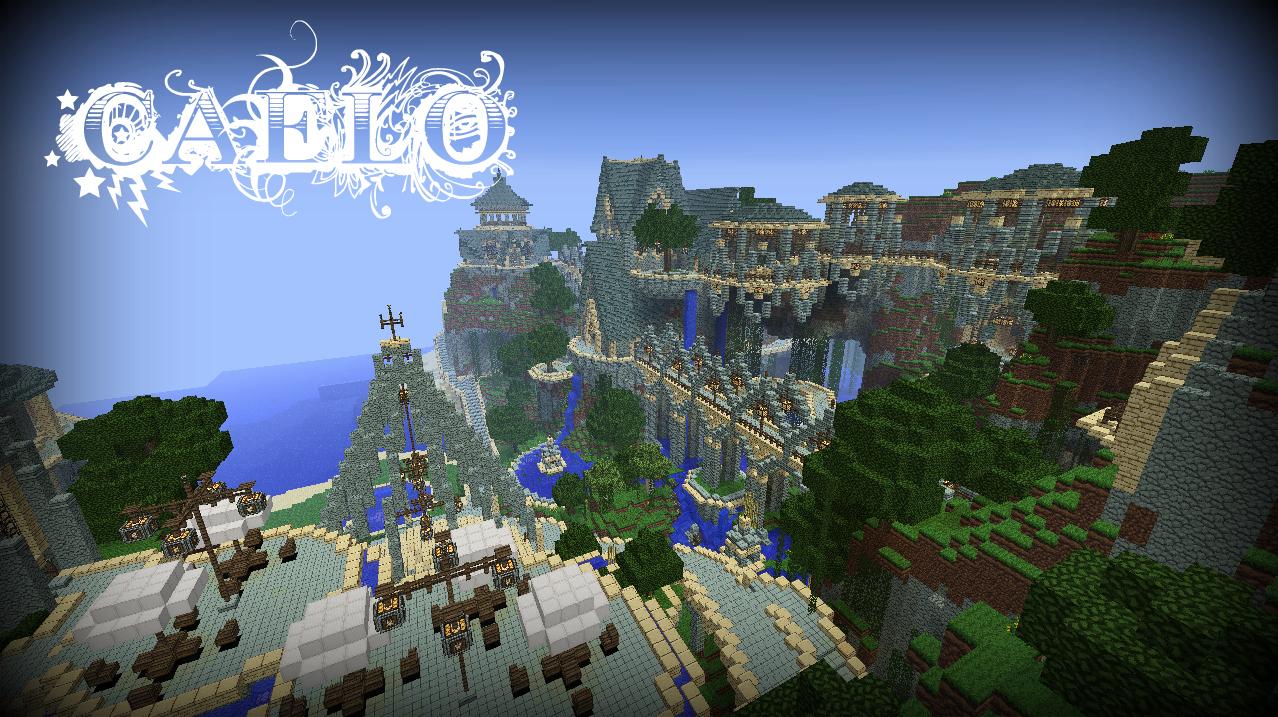 Minecraft Island Resort Builds
