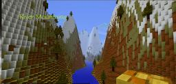 Winding River Trough AMAZING Mountains! Minecraft Map & Project